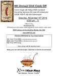 8TH Annual Chili Cook Off and Game Night