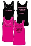 XKM Womens Tank Top - Lesson