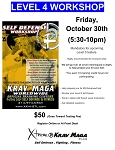 Krav Maga Level 4 Workshop - October 30th, 2020