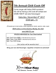 7TH Annual Chili Cook Off and Game Night