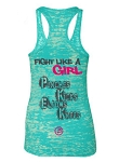 XKM Fight Like A Girl - Womens Tank Top