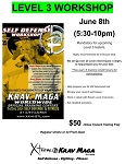 Krav Maga Level 3 Workshop - June 8th, 2018