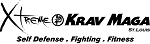Krav Maga Window Decal - White