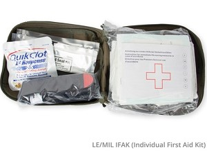 "(IFAK) Individual First-Aid Kit - ""Tactical Medical Kit"""